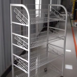 Metal Wire Storage Rack with Wire Shelves pictures & photos