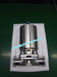 Sanitary Diaphragm Valves of Positioner Single Acting Normally Closed pictures & photos