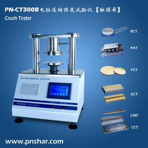 Carton Packaging Touch Screen Crush Testing Machine pictures & photos