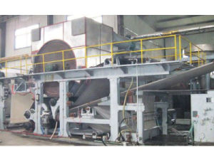Double Cylinders Wiping Paper Machine pictures & photos