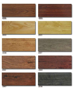 Wooden PVC Flooring Plank China pictures & photos