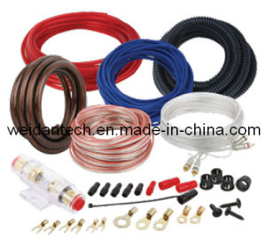10 Ga Car Audio Power Amplifier AMP Wiring Kit (WD18A-005) pictures & photos