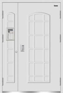 Stainless Unit Intelligent Anti-Theft Door (DAM-4)