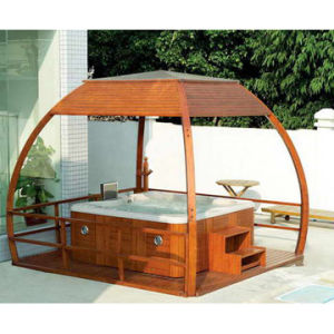 Luxury Wooden Arbor for Outdoor SPA
