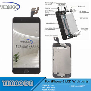Mobile Phone LCD for iPhone 6 LCD Touch Screen with Flex Cable Small Parts pictures & photos