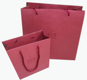 Hot Sale Art Paper Bag for Wine Bottlles (YY-B0112) pictures & photos