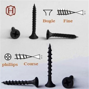 Screw/Drywall Screw/Black Phosphated Bugle Head Drywall Screw pictures & photos