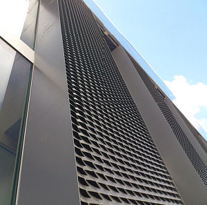 Aluminum Expanded Mesh Design for Screen Roof pictures & photos
