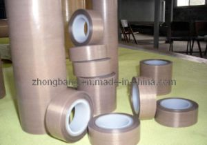 High Sealing PTFE Coated Fiberglass Adhesive Tape/Fabrics for Bag Sealing pictures & photos
