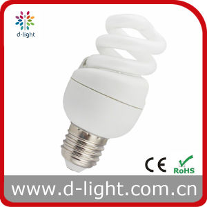 9W T3 Cute Mini Full Spiral Light Bulb pictures & photos
