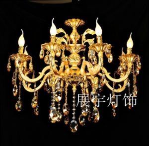 6 Lights Competitive Modern Chandelier Lamp Light in Chrome pictures & photos
