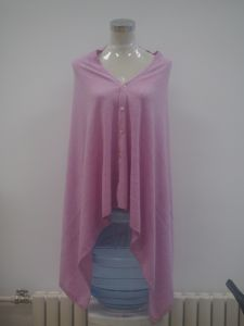 Woman Knitted Mongolian Cashmere Poncho