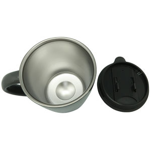 Stainless Steel Vacuum Coffee Cup 380ml with Lid pictures & photos