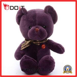 Wholesale Stuffed Animal Purple Super Soft Bear Toy Plush pictures & photos