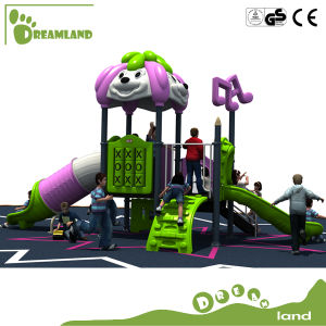 Fashion Outdoor Kids Plastic Slide Game Playground pictures & photos
