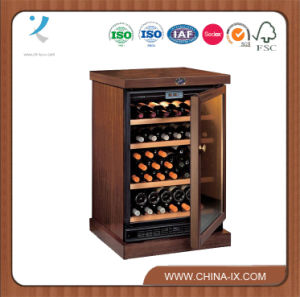 Custom Design Retail Wine Store Wine Bottle Display Case pictures & photos