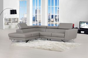 Left Chaise Sectional Leather Sofa Set pictures & photos