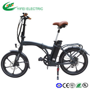 2016 New Design Electric Foldable Bicycle En15194 Approved pictures & photos