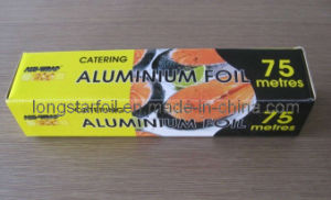 Household Aluminium Foil Roll for Catering Foil 75m X 30cm for UK Market
