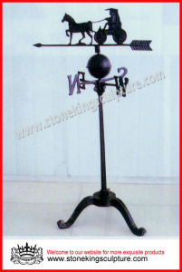 Wrought Iron Weathervanes (SK-5679) pictures & photos