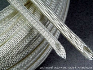High Temperature Resistance Oly Braided Fiberfglass Sleeving pictures & photos