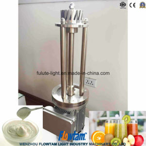 Stainless Steel Intermittent High Shear Emulsification Mixer pictures & photos