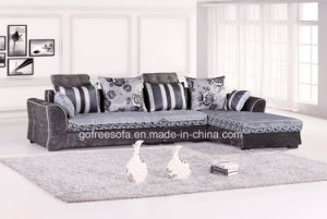 L Shape Fabric Sofa