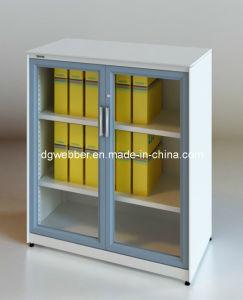 Metal Glazed Swing Door Cabinet pictures & photos