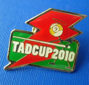 Promotion Emblems Soft Enamel Lapel Pin, Custom Badge (GZHY-BADGE-005) pictures & photos