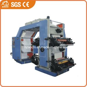 4 Colors Plastic Film Flexo Printing Machine (WS884-500GJ) pictures & photos