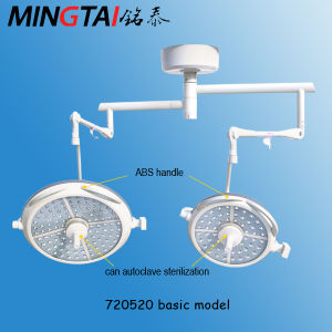 LED 720/520 Shadowless Operating Light/Surgical Lamp pictures & photos
