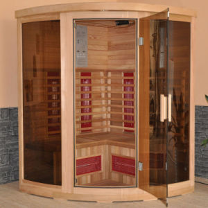 Far Infrared Corner Sauna Cabin Room (FIS-3G) pictures & photos