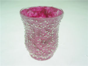 Hot and New Release Sand Blast/ Sand Covering Glass Hurricane Lamp Shade pictures & photos