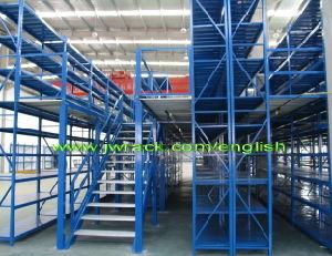 Steel Multi-Tier Mezzanine Floor Rack for Storage pictures & photos
