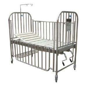 Stainless Steel High Rail Children Bed (THR-CB13) pictures & photos