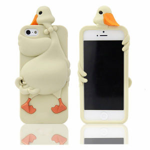 Lovely Dementia Rubber Duck Cellphone Case for iPhone