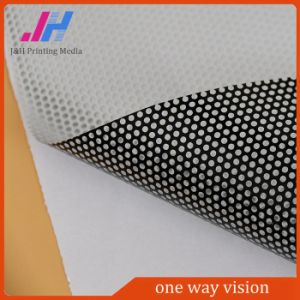 PVC Adhesive Vinyl One Way Vision for Outdoor/Indoor Decoration pictures & photos