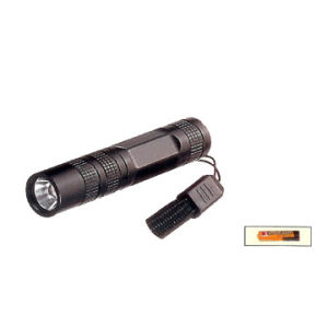 Cheap Pocket Promotion 1AA Powered Mini LED Flashlight with Slim Aluminum Body pictures & photos