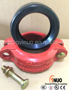 88.9mm/3.5inch Nodular Cast Iron Rigid Coupling FM/UL/Ce Approved pictures & photos