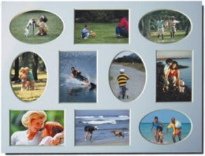 Collage Mat for Frame- Multi Opening Photo Frame