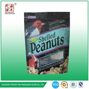 Aluminum Foil Doypack with Zip Lock Peanut Packaging Bag