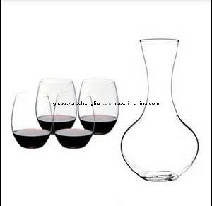 Set of 5PCS of Stemless Wine Glass (B-GS10) pictures & photos