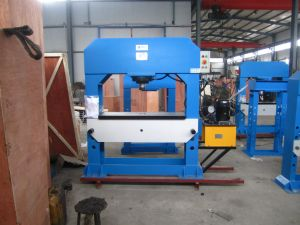 Ordinary Standard Manual Electric Hydraulic Press (HP-50S/D) pictures & photos