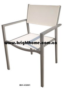 High Quality Outdoor Aluminum Cheaper Chair pictures & photos