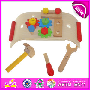 Wooden Pretend Play Tool to for Kids, DIY Wooden Toy Tool Toy for Children, Hot Sale New Design Garden Tools Toys W03D038 pictures & photos