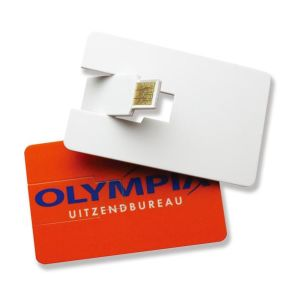 Digital Print Logo in Card USB Flash Drive pictures & photos