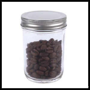 Clear Straight Jar for Coffee Beans Storage pictures & photos