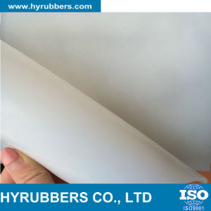Cheap High Temperature Clear Transparent Silicone Rubber Sheet for Sale pictures & photos