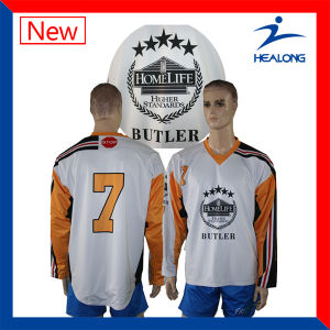 Healong Customized Sportswear Breathable Sublimation Printing Hockey Jersey pictures & photos