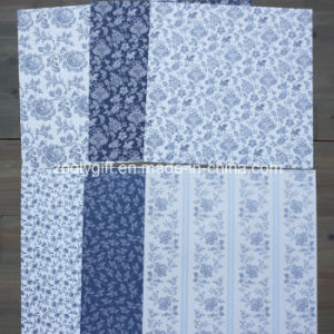 "Parisienne Blue 12X12"" Paper Pack Scrapbook Patterned Paper Pad pictures & photos"
